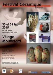 Festival Céramique Village Mouffetard