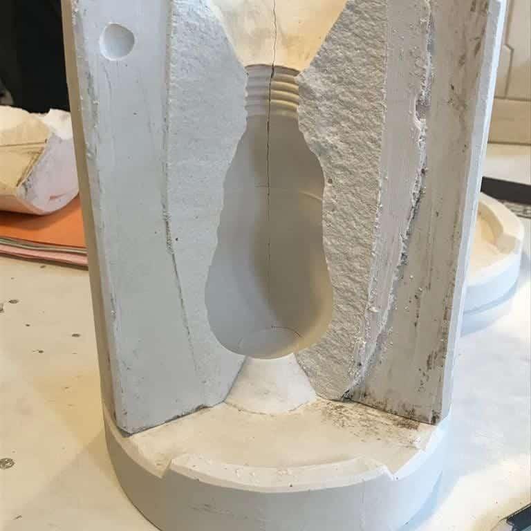 Moulage plâtre